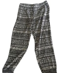 2b bebe Relaxed Pants Black, white