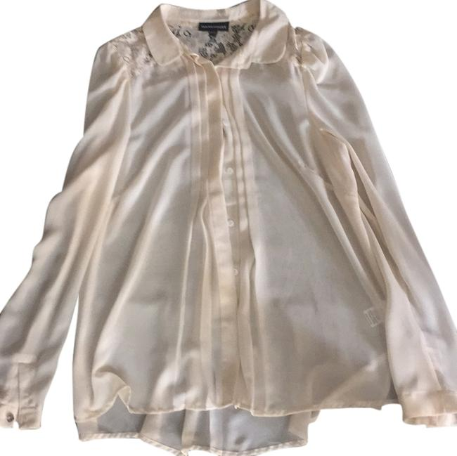 Other Top White, beige, lace