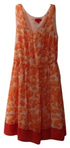 Elle short dress Orange on Tradesy