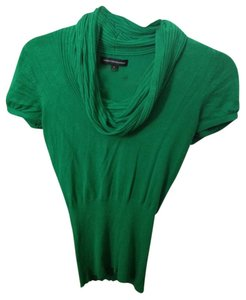 Express Cowl Neck Short Sleeve Sexy Flattering Office Casual Sweater
