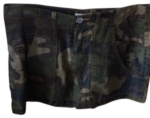 Joie Mini Skirt Green camo