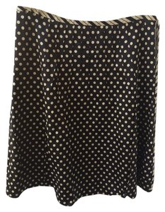 Marc by Marc Jacobs Skirt Black and White/Cream. Black Skirt White/Cream Polka Dots