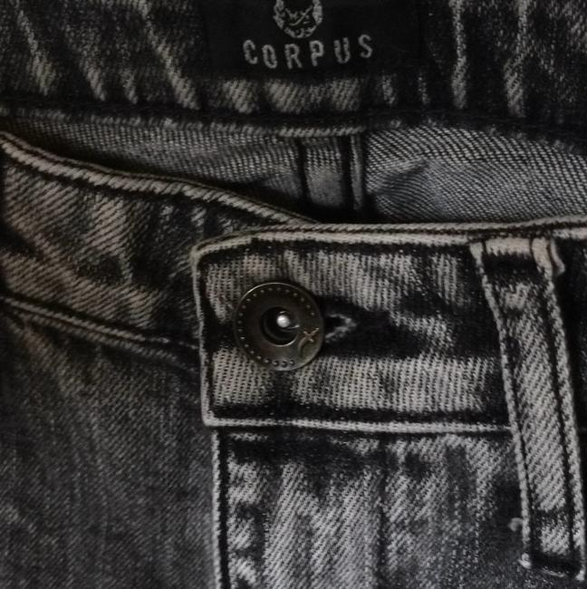 Corpus Skinny Pants Black acid wash