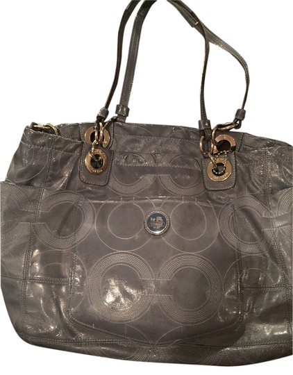 Coach Blue/grey Diaper Bag