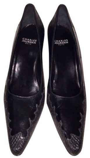 Charles Jourdan Black Pumps