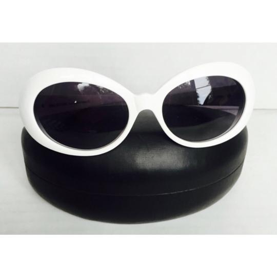 Anne Fontaine Anne Fontaine White Sunglasses Like New