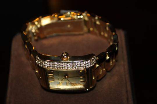 Michael Kors Michael Kors Gold tone diamond watch
