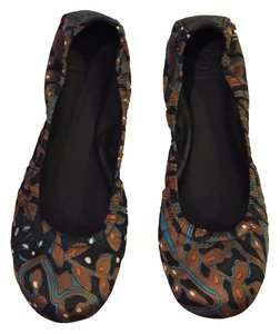 Tory Burch Floral/Paisley (Multi-Color) Flats