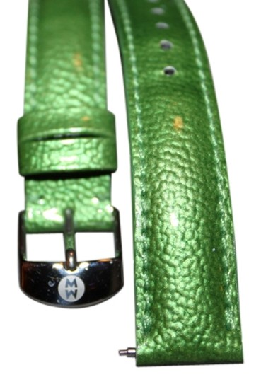 Preload https://item2.tradesy.com/images/michele-green-leather-band-watch-6151681-0-2.jpg?width=440&height=440