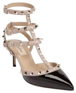 Valentino Black/Nude Sandals