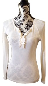 Ann Taylor LOFT Top Off white or light cream