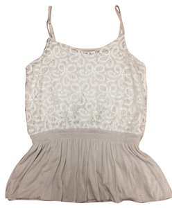Express Girly Top Cream/Beige
