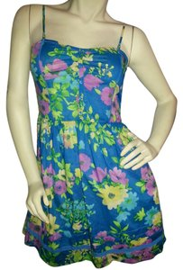Aropostale short dress multi floral on Tradesy