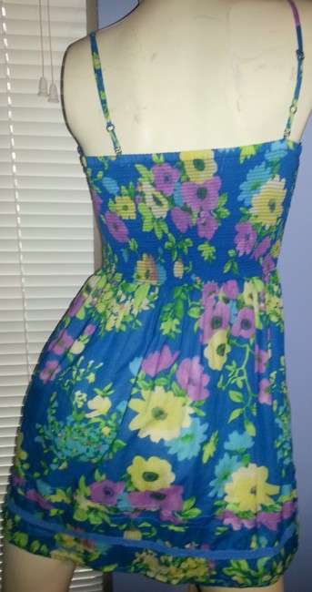 Aéropostale short dress multi floral on Tradesy