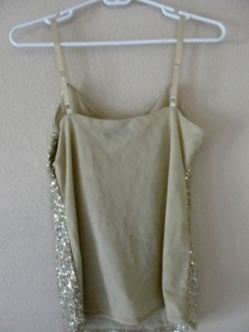 The Limited Top Gold Sequin