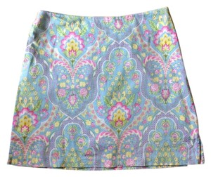 E P Pro Golf Tennis Paisley Mini Mini- Mini Skirt multi