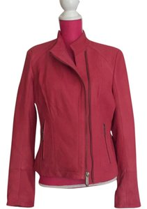 Michael Kors Coral Leather Jacket