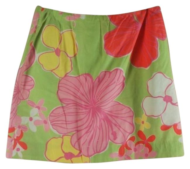 Preload https://item5.tradesy.com/images/lilly-pulitzer-multicolor-in-bahama-mama-10p-hibiscus-green-pink-miniskirt-size-petite-10-m-6159109-0-0.jpg?width=400&height=650