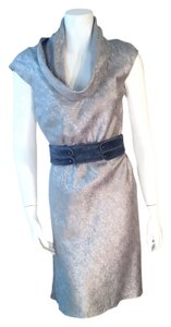 Zac Posen Metallic Size 4 Dress