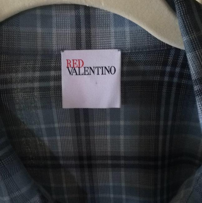 RED Valentino Button Down Shirt Blue