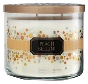 Bath and Body Works BATH AND BODY WORKS Bath Body Works Peach Bellini 3-wick Scented Candle