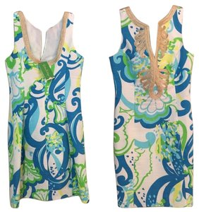 Lilly Pulitzer short dress Resort White Crystal Coast on Tradesy
