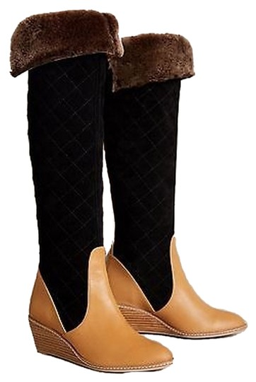 Anthropologie Schuler Sons Penny Quilted Multi Boots