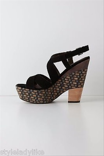 Anthropologie Abbott Wedges By Holding Sandals