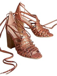 Anthropologie Miss Albright Camille Heels Sandals