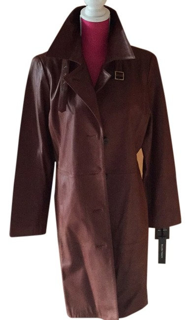 Preload https://item4.tradesy.com/images/ellen-tracy-chocolate-brown-trench-coat-size-12-l-6173383-0-0.jpg?width=400&height=650