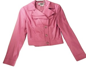 Carlisle soft pink Leather Jacket