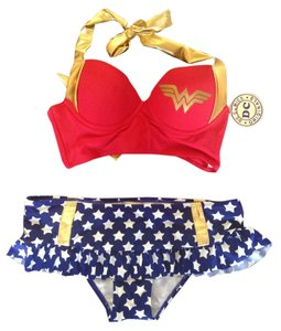 DC Comics 2 Piece Wonder Woman Swimsuit