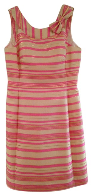 Preload https://item1.tradesy.com/images/lilly-pulitzer-gold-cream-and-pink-elias-short-cocktail-dress-size-0-xs-6173875-0-0.jpg?width=400&height=650