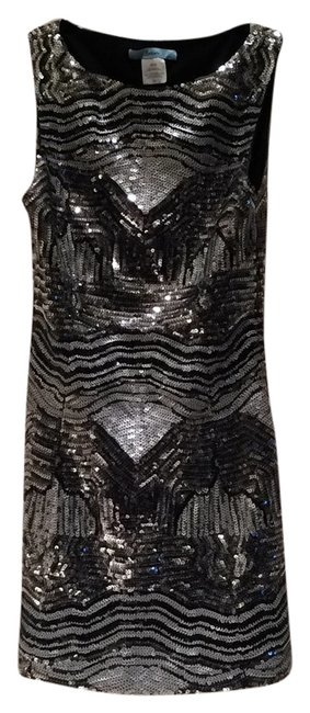 Preload https://item3.tradesy.com/images/marciano-dress-black-and-silver-6174487-0-0.jpg?width=400&height=650