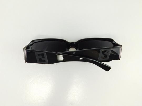 Fendi New Fendi FS 471M 001 Black Gradient Full-Frame Plastic Sunglasses 58mm