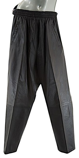 Preload https://item1.tradesy.com/images/dark-brown-vintage-leather-welastic-waistband-size-2-xs-26-6174670-0-0.jpg?width=400&height=650