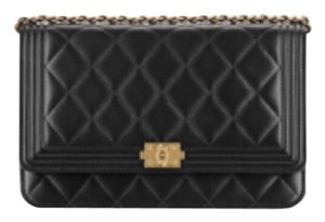Boy Chanel wallet on chain Cross Body Bag