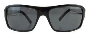 Fendi New Fendi FS 390M 001 Black Gray Full-Frame Plastic Sunglasses Italy 53mm