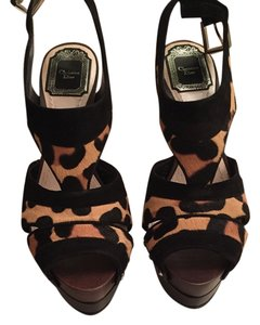 Dior Christian Platform High Animal print Platforms