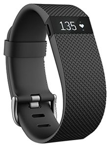 fitbit Fitbit Charge HR Wireless Activity Wristband, Black, Small