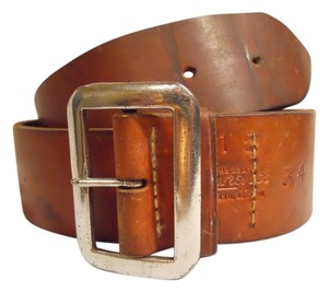 George Lawrence Vintage George Lawrence leather belt
