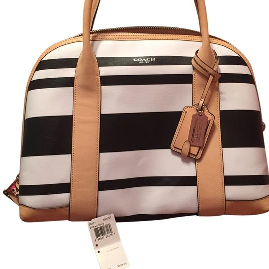 Preload https://item2.tradesy.com/images/coach-satchel-black-and-white-6175651-0-0.jpg?width=440&height=440