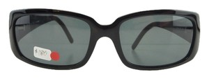 Fendi New Fendi FS 304 001 Black Gray Gradient Acetate Full-Frame Sunglasses 55mm Italy
