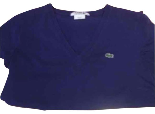 Lacoste T Shirt Navy