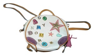 Dooney & Bourke Leather Charm Backpack