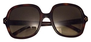 Chloé Women's Square Havana Sunglasses