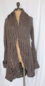 Willow & Clay Crochet Knit Sweater Cardigan
