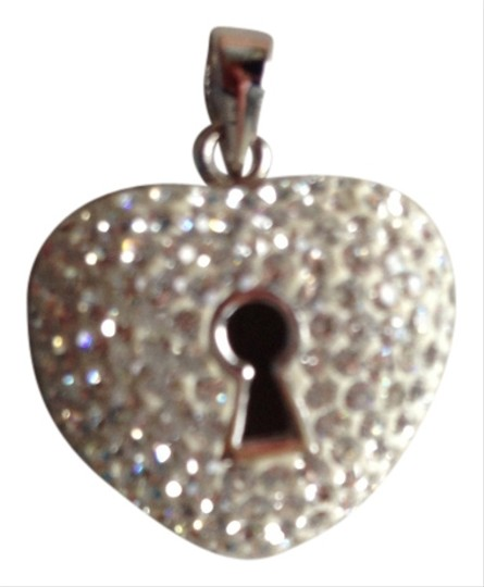 Other Sterling Silver Crystal Heart pendant