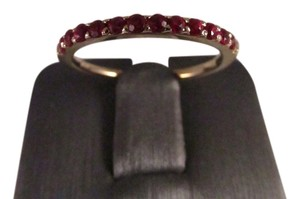14K Solid Yellow Gold Natural Ruby Ring