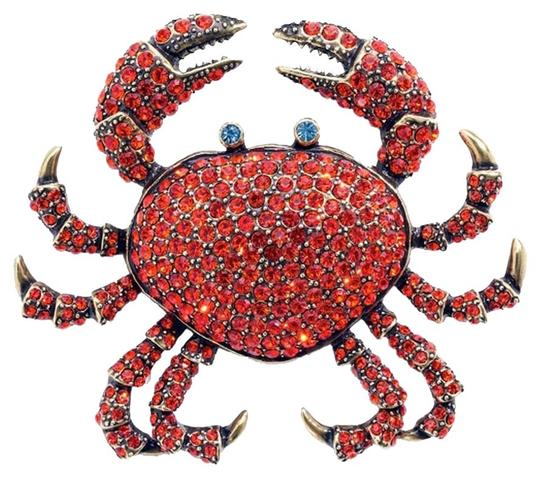 Preload https://item2.tradesy.com/images/heidi-daus-queen-crab-pin-siam-rare-exquiste-one-of-a-kind-swarovski-crystal-wow-6177271-0-4.jpg?width=440&height=440